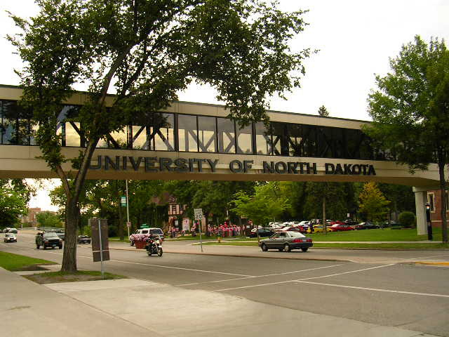 University of North Dakota campus